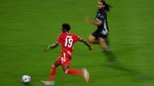 Alphonso Davies, Bayern Munich's roadrunner, speeds on to centre stage