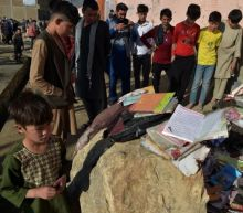 Bombing at girls' school in Kabul kills at least 50, including students