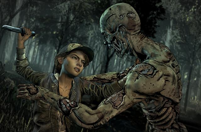 Telltale's quest to end 'The Walking Dead' on a high note