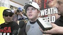 Canelo Alvarez on his chances against Mayweather