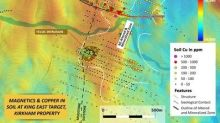 Metallis Identifies Stratabound Mineralization in Scout Hole at King East Target