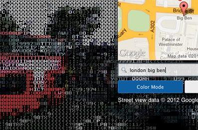 Google Street View goes retro with unofficial ASCII treatment