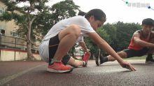 奔馳田徑場! 全盲國二女奪百米冠軍