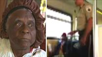 Elderly woman 'dragged off' train for singing