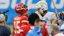 Chargers QB Justin Herbert responds to Patrick Mahomes' comment