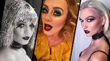 Celebrity Halloween hair and make-up inspiration