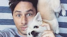 Zach Braff Mourns the Death of His Dog Roscoe: 'Goodbye My Old Friend'