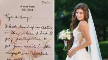 Convidada de casamento morre depois que noiva deseja que ela 'não venha'