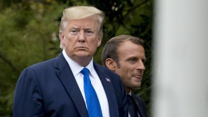 Trump disputes reports of tensions at G-7 summit