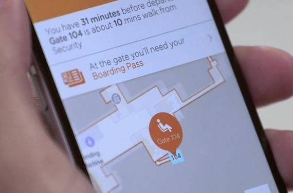 easyJet's iOS app is now your personal guide to Gatwick