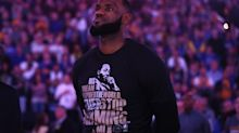 LeBron hails Martin Luther King Jr. Day as opportunity to unite, despite Trump's attempts to divide