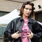 Bella Hadid Posts PSA in Dr. Martens & 2020's Most Important Fashion Accessory