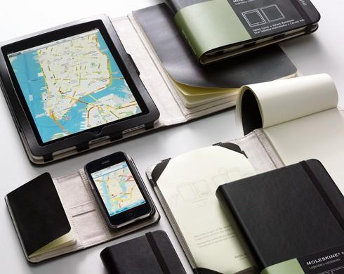 Moleskine launching iPhone and iPad cases: how would Hemingway play Angry Birds?