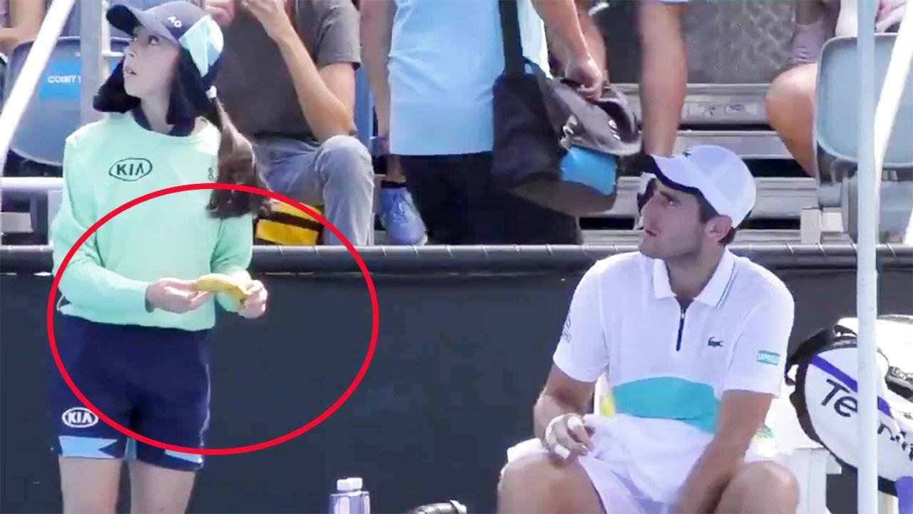 'She did it before': Australian Open player hits back in 'disgusting' ball girl scandal