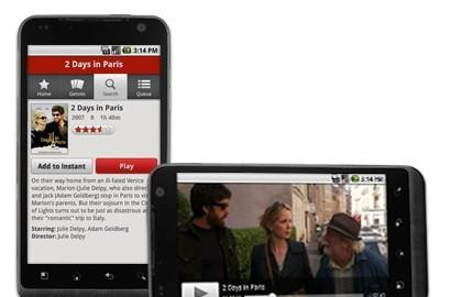 Netflix releases Android app for select HTC phones, Samsung Nexus S
