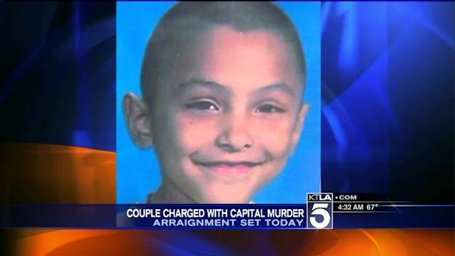 Palmdale toCouple Due in Court in Boy`s Torture Death