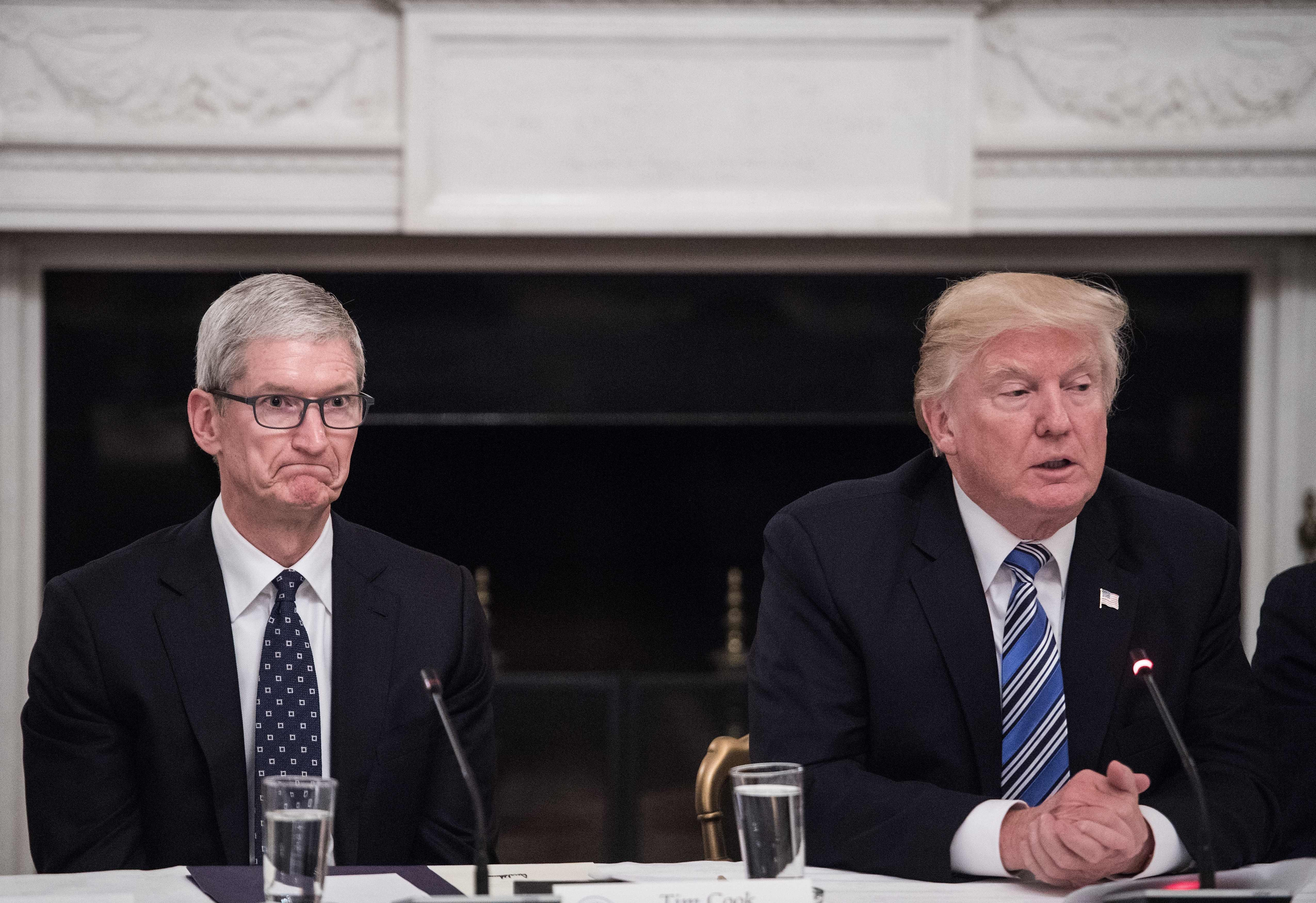 Tech Leaders Met With Trump, And The Looks On Their Faces Said It All