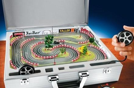 Pro-Idee kicks out pricey, portable go-cart funfest