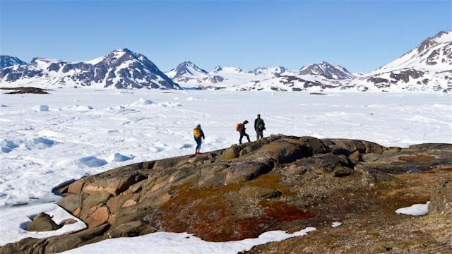 Ancient Tundra Discovered Under Greenland Ice Sheet