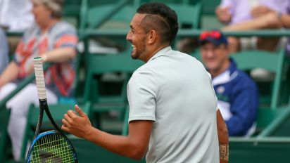 Kyrgios wins doubles title ahead of French Open