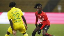 Soccer-Domenech's Nantes held by Rennes in former France coach's return