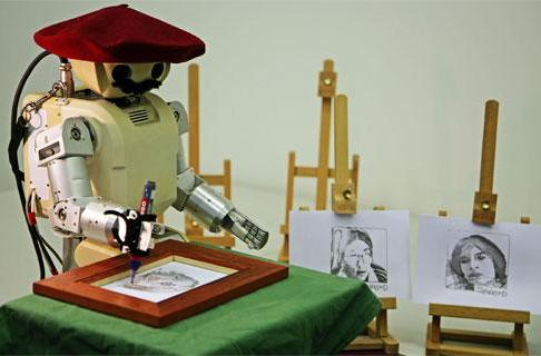 Salvador DaBot: robot portraitist extraordinaire