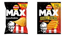 Walkers has teamed up with KFC to release fried chicken crisps
