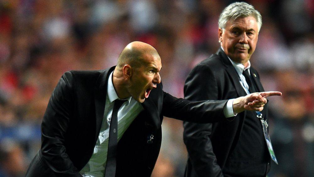 Ligue des champions: Zidane retrouve Ancelotti