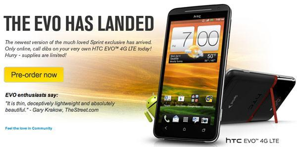 Sprint confirms May 18th release date for HTC EVO 4G LTE