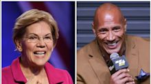 Bless Elizabeth Warren's Unabashed Love For 'Ballers,' The Rock: 'It Is Eye Candy'