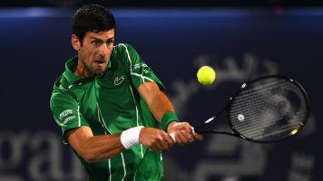 Did Djokovic break rules with outdoor practice?