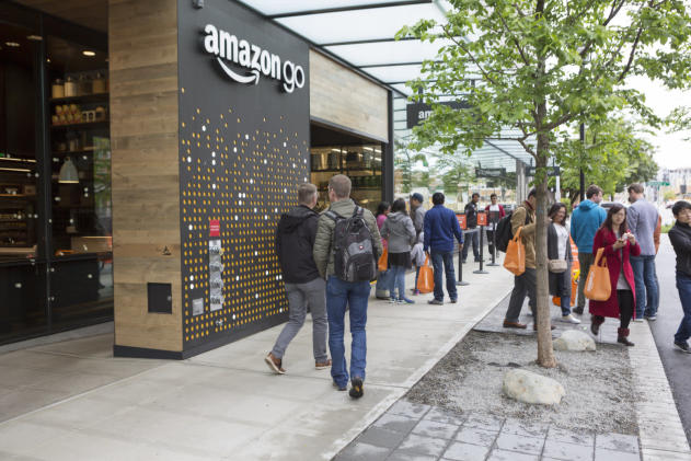 Amazon's cashierless Go stores may come to an airport near you