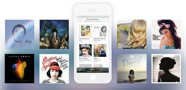 Rdio's iOS app now recommends music based on your listening habits