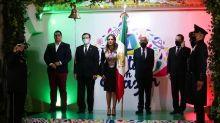 Conmemoró Tere Jiménez ceremonia del Grito de Independencia en el municipio capital
