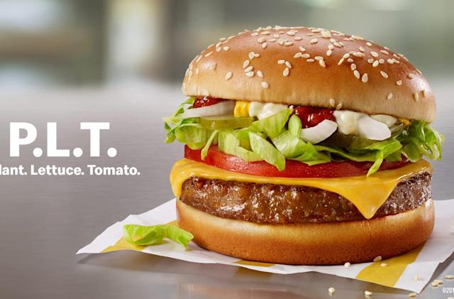 McDonald's will sell plant-based Beyond Meat burgers in Canada