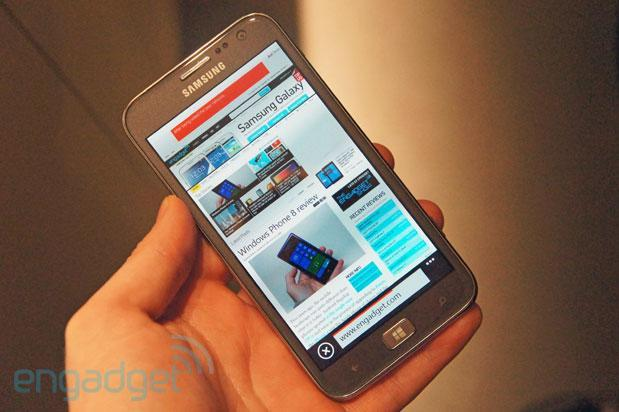 Samsung ATIV S: Hands-on with Samsung's first Windows Phone 8 device (video)
