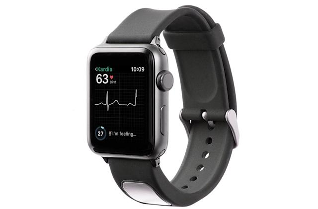 FDA clears first EKG band for the Apple Watch