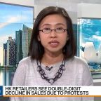 Hong Kong Luxury Feels Protest Pain