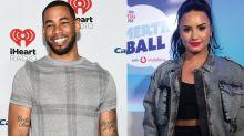 'Bachelorette' star Mike Johnson says Demi Lovato 'kisses really well'