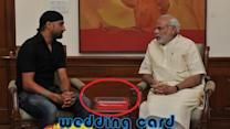 Harbhajan Singh invites PM Narendra Modi to his wedding!