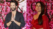 Sweet! Shahid-Kareena bump into each other, talk about their babies!