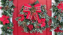 What is doorscaping and why are celebrities all over the trend this Christmas?