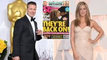 Truth behind Brad Pitt and Jen Aniston's kiss