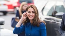 Kate Middleton fiel a su estilo, repite vestido