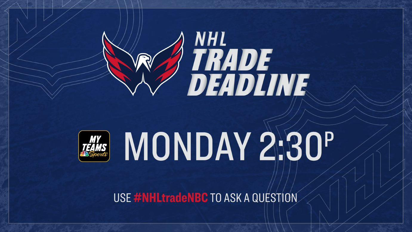 2020 NHL Trade Deadline Show: Time, TV channel, live stream, how to watch