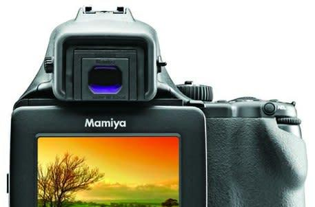 Mamiya's DM22 is a medium format digital camera for the Walmart type at sub-$10k pricepoint