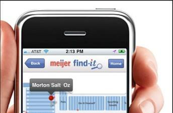 Meijer deploys indoor positioning trial, helps you find the Morton Salt faster