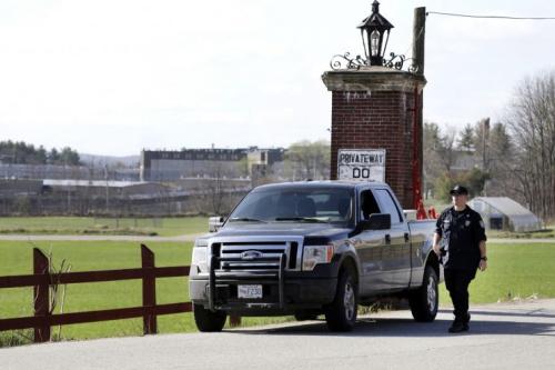 A view of Souza-Baranowski Correctional Center, where Aaron Hernandez took his life. (AP)