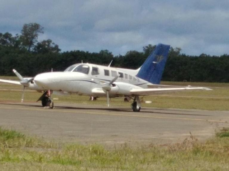Australian police released this picture of the drug-laden airplane that crashed on July 26 as it attempted to fly from a airstrip about 30 kilometres (19 miles) north of Papua New Guinea's capital of Port Moresby, en route to Australia