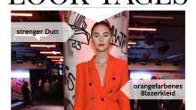 Look des Tages: Stefanie Giesinger in Orange